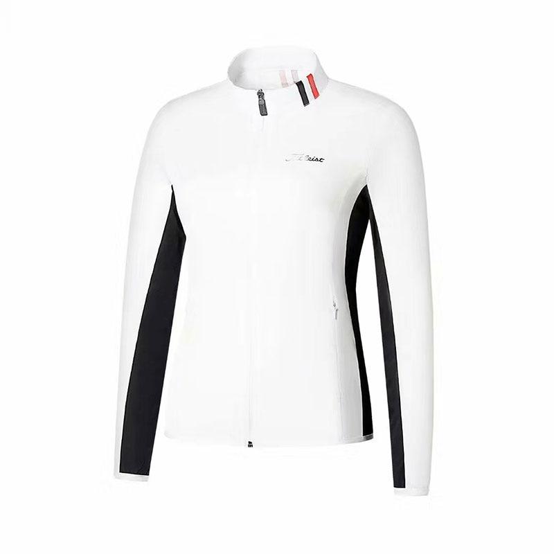 2019 Swirling  New Women's  Golf Windbreaker Sportswear T Long-sleeved Golf T-shirt Golf Apparel  Free Shipping