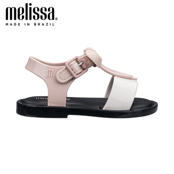 Mini Melissa Mar Sandal Girl Jelly Shoes Sandals 2020 NEW Baby Shoes Soft Melissa Sandals Non-slip  Kids Shoes  Children Sandal