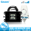 Lintratek Russia GSM 900 4G LTE 1800 Ripetitore GSM 1800mhz Mobile Del Segnale Del Ripetitore 65dB Dual Band Ripetitore Repetidor Celular 3G 4G Antenna