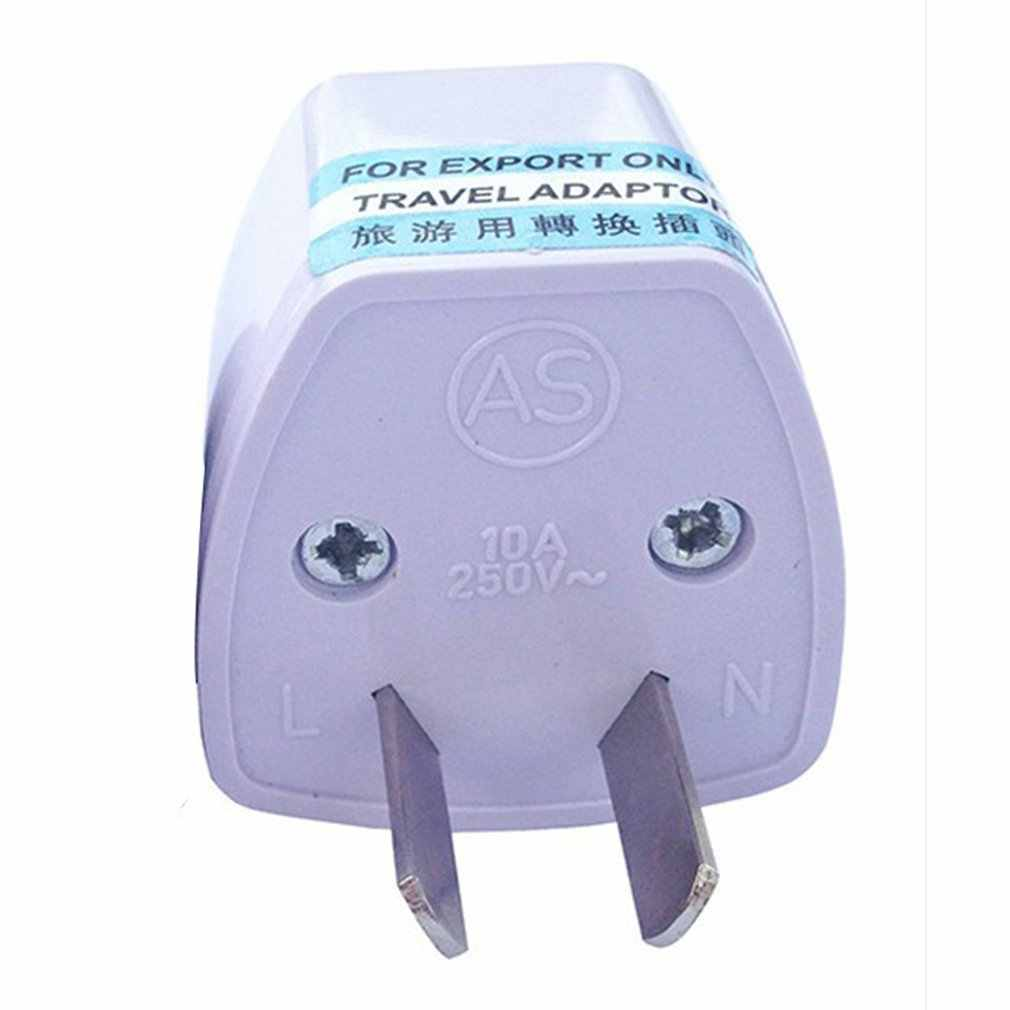 Adaptador de conector de conversión de energía de dos patas enchufe de alimentación de ocho clavijas