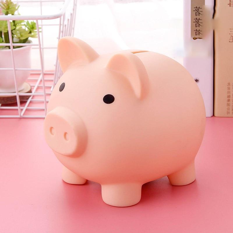 Cartoon Pig Money Bank Coins Storage Box Kids Toys Birthday Gift Home Decor Money Saving Boxes Children Piggy Money Bank