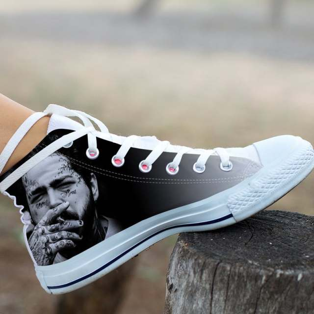 Post Malone Leisure Sneakers For Men and Women 1