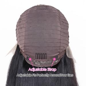 Image 5 - ישר HD 13x6x1 T חלק תחרה פאות ברזילאי רמי טבעי צבע שיער טבעי תחרה פאות עבור שחור נשים מראש קטף עם תינוק שיער