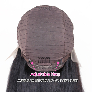 Image 5 - Straight HD 13x6x1 T Part Lace Wigs Brazilian Remy Natural Color Human Hair Lace Wigs For Black Women Pre Plucked With Baby Hair