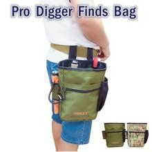 SHRXY الخنصر للكشف عن المعادن العثور على حقيبة متعددة الأغراض حفار حقيبة أدوات للكشف عن بينبوينتر Xp حزمة بغل الحقيبة