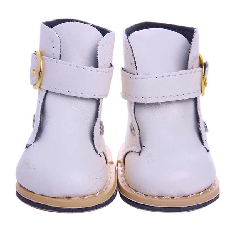 Zapatos de muñeca accesorios de moda para 18 pulgadas American y 43 Cm Born Baby Our Generation Navidad cumpleaños niña regalo