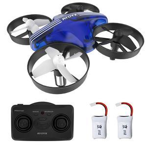 Image 1 - 미니 드론 Quadrocopter Dron RC 헬리콥터 Quadcopter 고도 홀드 헤드리스 모드 드론 2.4G 원격 제어 항공기 완구