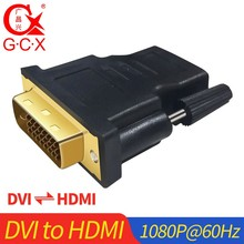 DVI to HDMI Converter 1080P DVI-D Dual Link Male Female Adapter for Laptop Computer Projector Extension Cord