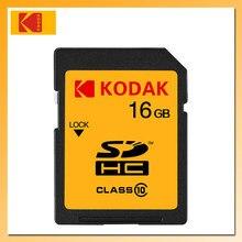 KODAK-Tarjeta SD de alta velocidad U1, Tarjeta Flash de 32GB, 80 MB/s, 16GB, 50 MB/s, Clase 10, Tarjeta de memoria SD para cámara Digital SLR/HD SDHC