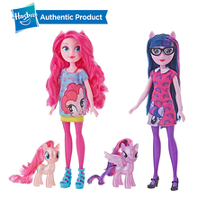 Hasbro My Little Pony Equestria Girls Through the Mirror Assortment 11-Inches Fashion Doll Collectible Doll Girls Gift цена 2017