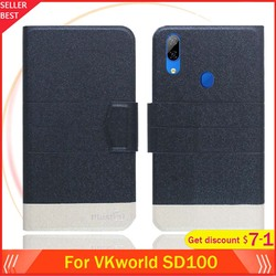 На Алиэкспресс купить чехол для смартфона vkworld sd100 case 6дюйм. flip ultra-thin leather exclusive phone cover fashion folio book card slots