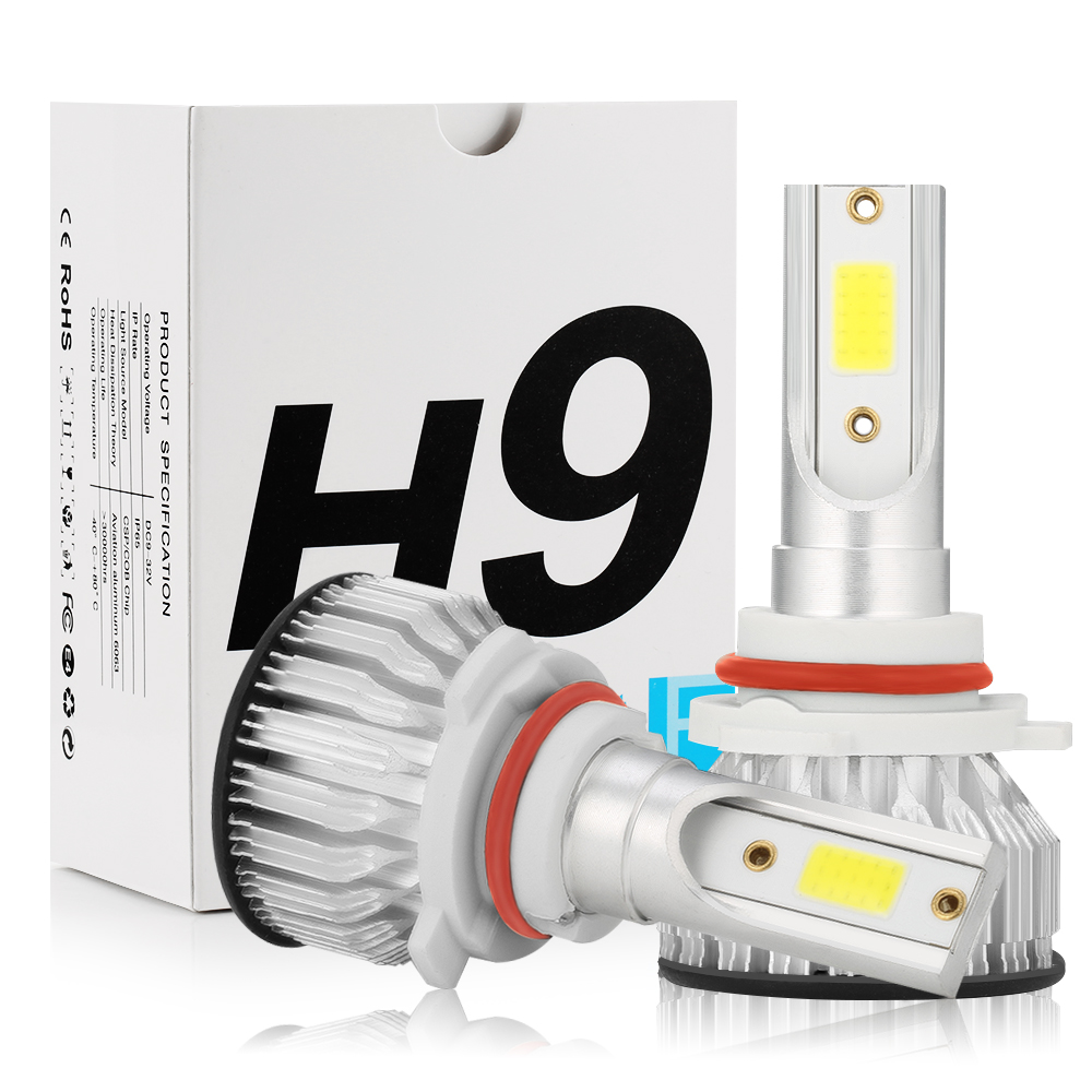 VW Passat B7 H11 LED Headlight Car KIT 6000K Bulbs Xenon White CSP COB