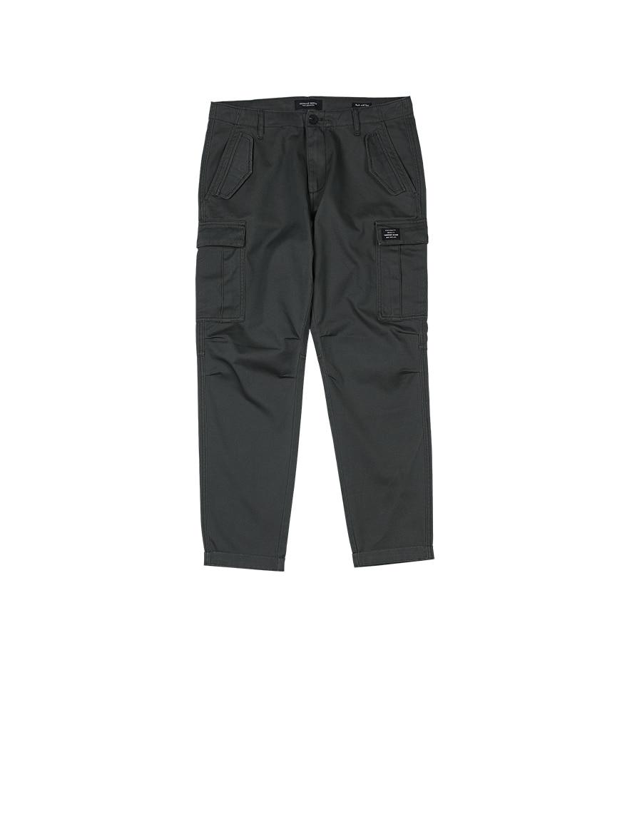Hd0b07d7c4b724e0eaef724806380ad48D SIMWOOD New 2019 Casual Pants Men Fashion track Cargo Pants Ankle-Length military autumn Trousers Men pantalon hombre 180614