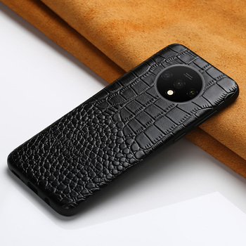 Genuine Cow Leather Phone Case For Oneplus 7T 8 Pro 8T 7 Pro 6 6T Nord Cover for One Plus 5 5T 7T Pro Nord Full protective Case