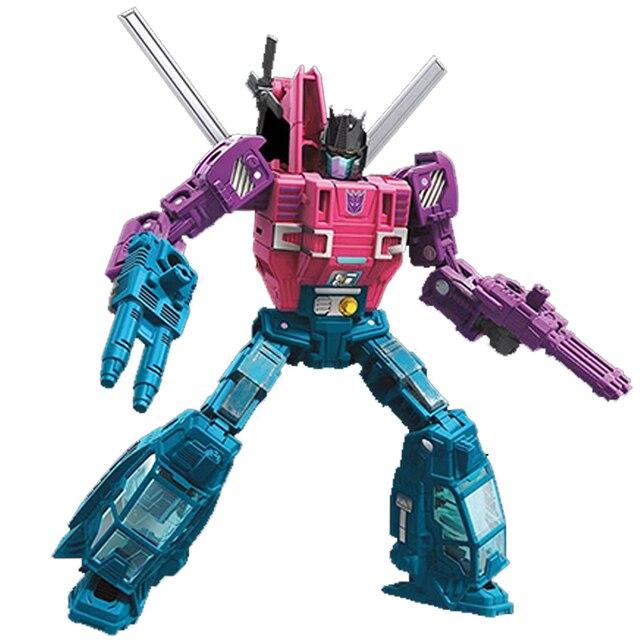 Robô guerra de cerco para cybertron spinister clássico brinquedos para meninos figura de ação