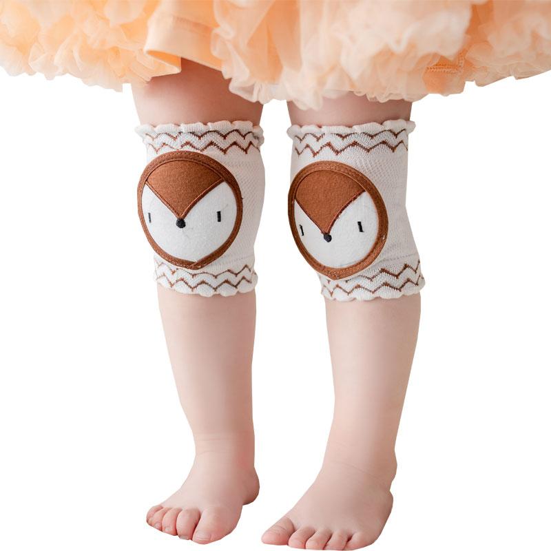 Baby Leg Cover Crawl Learn To Walk Boy Girl Leg Warm Cover Elbow Shield Cartoon Cute Knee Pad Children Knee Shield Knock Against