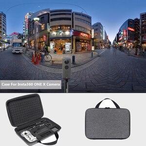 Image 5 - Le plus récent étui de transport rigide EVA pour caméra daction Insta360 ONE X 360 et accessoires boîte de rangement de protection sac Portable