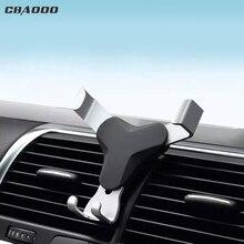 CBAOOO universal schwerkraft auto handy halter handy GPS auto vent clip 360 grad dreh handy halter