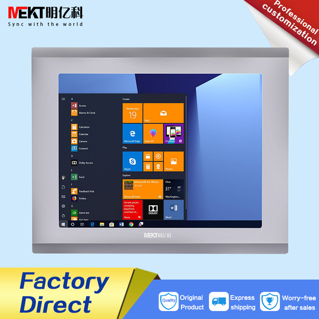 10/10.4-inch usb touch screen lcd monitor/Industrial Embedded  Multi-touch display HDMI  DVI  USB  VGA  panel waterproof