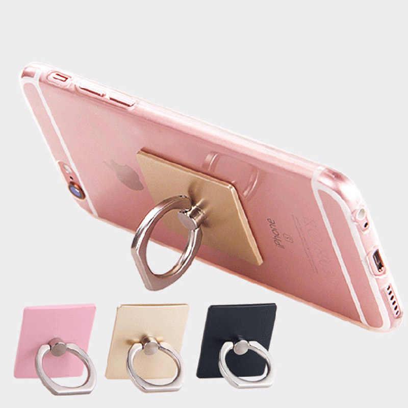 Điều Chỉnh 360 Độ Ngón Tay Nhẫn Điện Thoại Thông Minh Điện Thoại Đế Đứng Giữ Điện Thoại Di Động cho Iphone dành cho Xiaomi dành cho Samsung