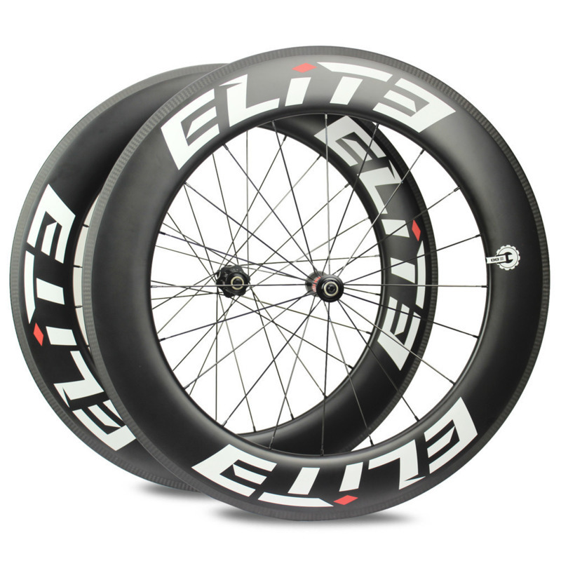 Elite DT 350S 700c Carbon Wheels 20-24H Road Bike Wheel 25mm 27mm Width Tubular Clincher Tubeless Carbon Fiber Bicycle Wheelset