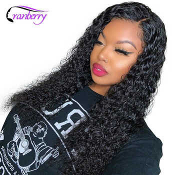 Cranberry Hair 360 Lace Frontal Wig Water Wave Wig 100% Remy Hair Brazilian Wig Human Hair Wigs For Black Women Free Shipping - DISCOUNT ITEM  53% OFF All Category