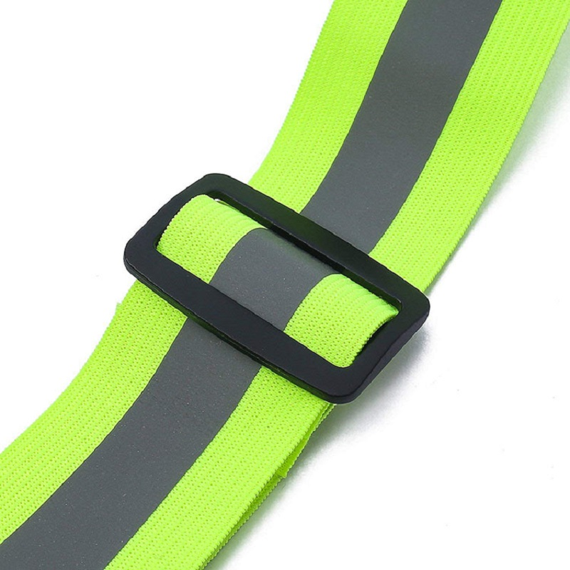 Купить с кэшбэком Reflective Vest With Adjustable Elastic Safety Vest Outdoor Reflective Belt, Ultralight & Comfy for Running, Jogging, Walking