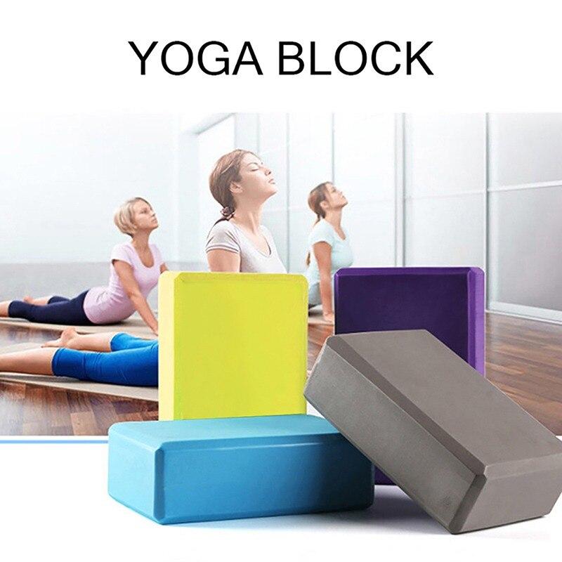 Инструмент для тренажерного зала, фитнеса, йоги, 2021 г., популярный блок из ЭВА для йоги, пилатеса, кирпичи из пеноматериала, домашние эластичн...