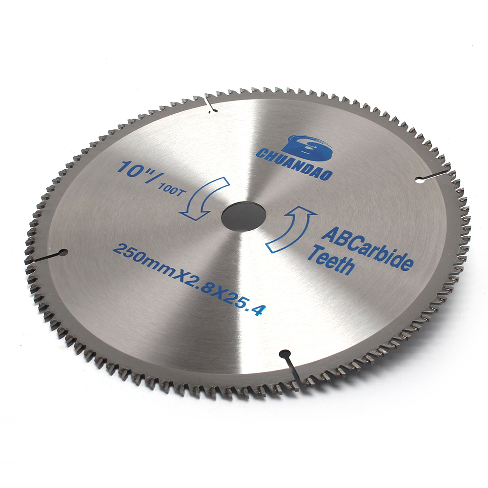 110mm-400mm Carbide Circular Saw Blade Cutting Disc Cutting Aluminum and Wood 40/60/80/100/120 Teeth image