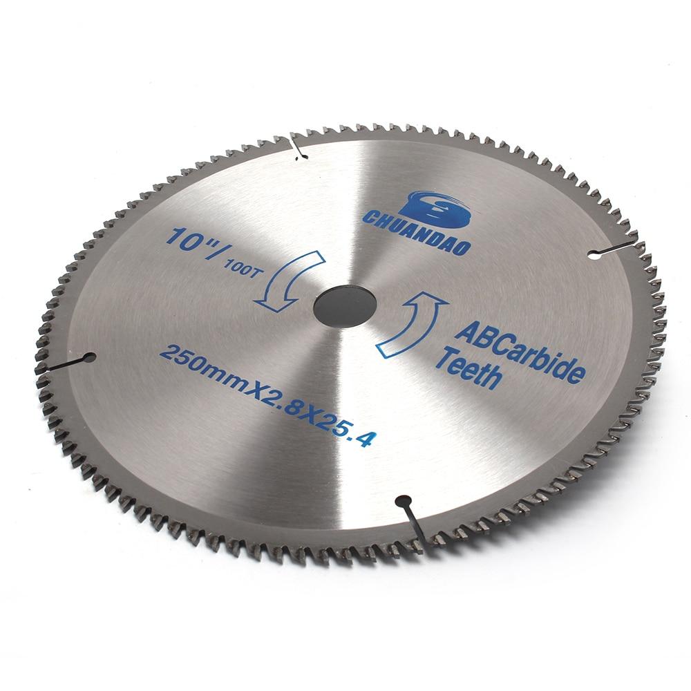 110mm-400mm Carbide Circular Saw Blade Cutting Disc Cutting Aluminum And Wood 40/60/80/100/120 Teeth