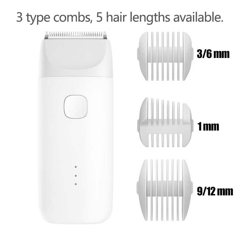 Image 2 - Xiaomi Professional Electric Hair Trimmer Rechargeable Men Beard Hair Clipper Cordless IPX7 Waterproof Hair Cutting Machine-in Hair Trimmers from Home Appliances