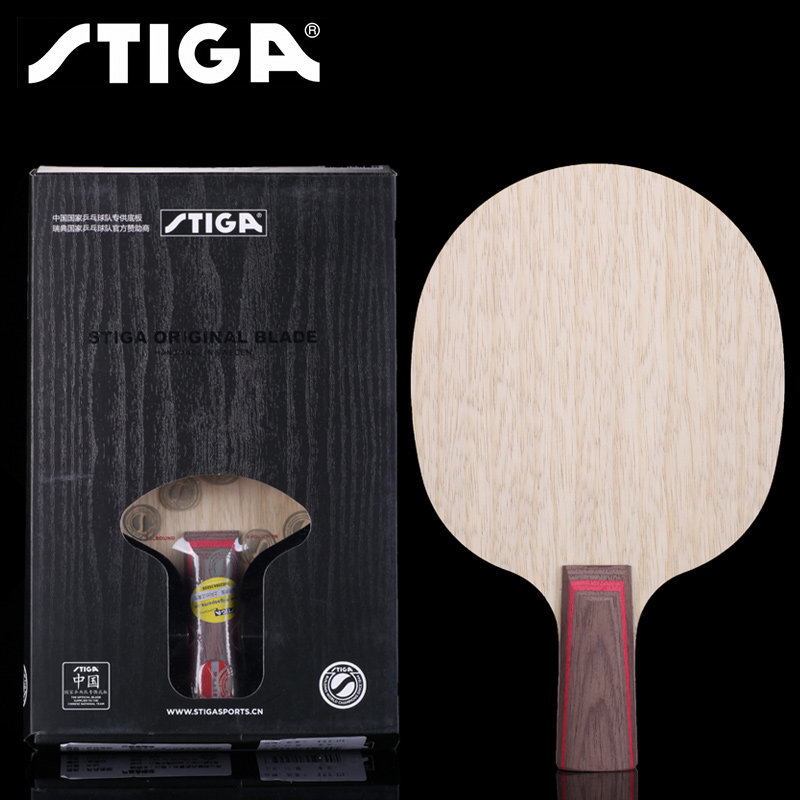 STIGA Allround Evolution AE Table Tennis Blade Racket 5 Ply Pure Wood Ping Pong Bat Paddle Tenis De Mesa
