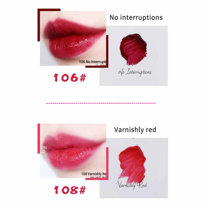 Nouvelles lèvres de bonbons brillantes Sexy. Pigments longue tenue, maquillage des lèvres en verre brillant sirène. Rouge à lèvres liquide mat velours