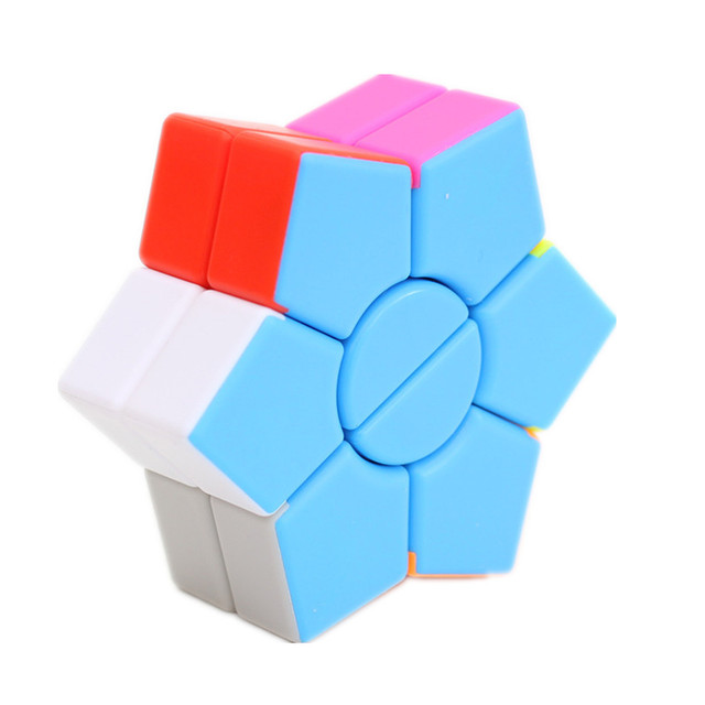 Jiehui Hexagram two-layer Square Hexagon Speed Magic Cube Twist Puzzle Educational Colorful Puzzle Professional 4