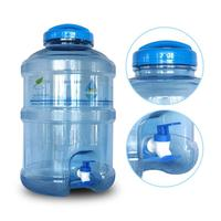 Portable 18.9L Large Capacity Eco friendly Water Bottle Dispenser with Cover and Dispensing Faucet for Outdoor Camping Traveling