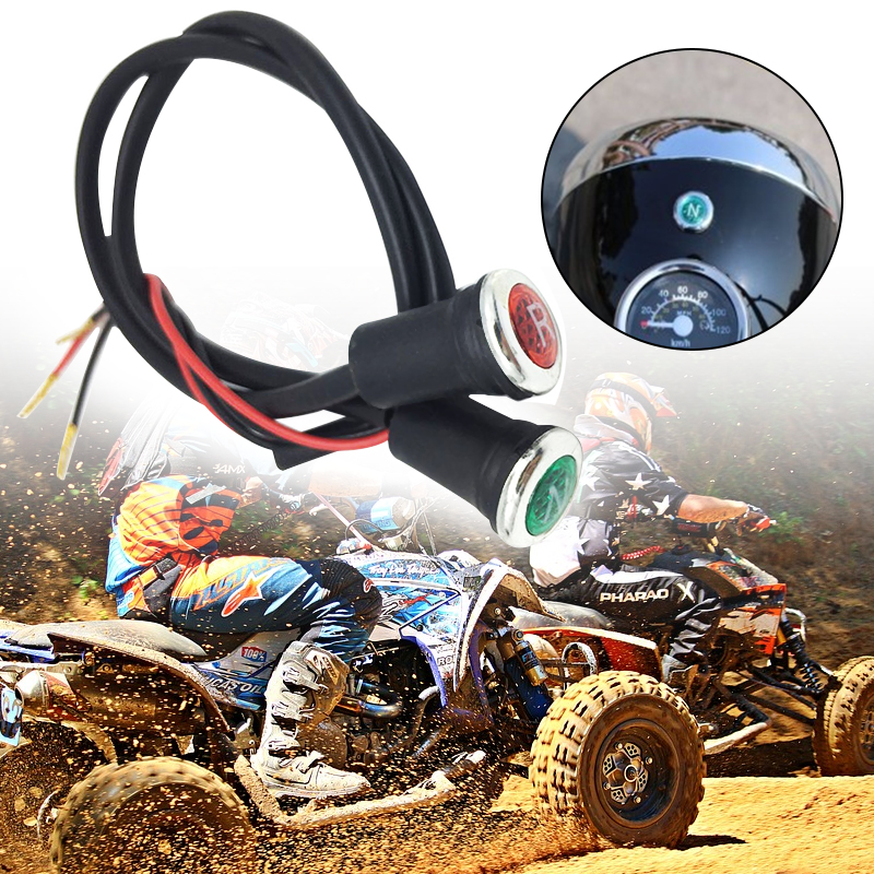 Reverse And Neutral Gear Shifter Indicator Light Set For Most 90cc 110cc 125cc 150cc 200cc 250cc 300cc ATVs