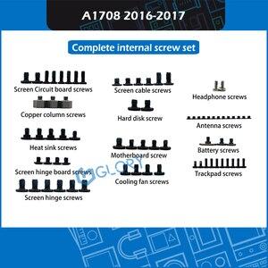 """Image 2 - Yeni komple iç vidalar set Macbook Pro Retina 13 """"15"""" A1706 A1708 A1707 iç vida değiştirme 2016 2017"""