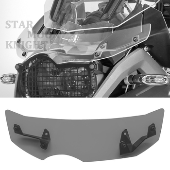 Motorcycle Windshield Extension Bracket Spoiler Windscreen Air Deflector Wind deflector For BMW R1200GS LC Adv R1250GS Adventure