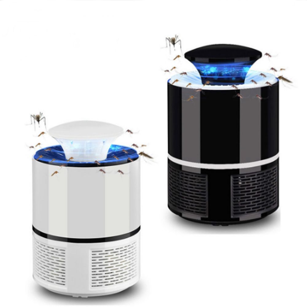 2pcs 5V USB Home Mosquito Killer Lamp Electronic Mosquito Repellent Killer Anti Insect Killer Bug Zapper Trap UV Light Lamp