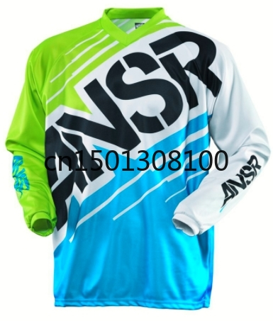 2020 Moto Motocross Jersey Maillot Ciclismo Hombre Dh Downhill Jersey Off Road Mountain ANSR Clycling Long Sleeve Mtb Jersey