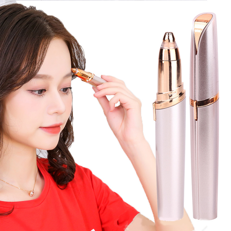 Electric Hair Shaver For Women Eyebrow Cut Knife Face Hair Cleaner Eyebrow Repair Pen Eyes Hair Tailoring Tool Fashion Portable