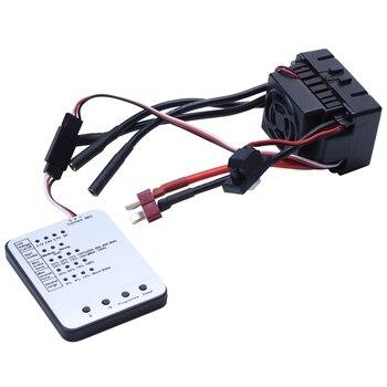 Waterproof 3650 2300KV/3100KV/3900KV Brushless Motor with 60A ESC W/ Program Card Combo for 1/10 RC Car Truck Toy 2300KV