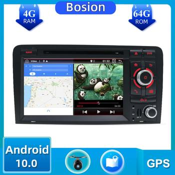 2 Din PX6 Car Multimedia PlayerAndroid 10.0 For Audi A3 2003-2011 car dvd player autoradio stereo audio free map canbus camera image