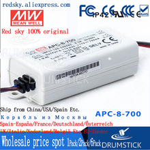 цена на Valuable MEAN WELL original APC-8-700 11V 700mA meanwell APC-8 11V 7.7W Single Output LED Switching Power Supply