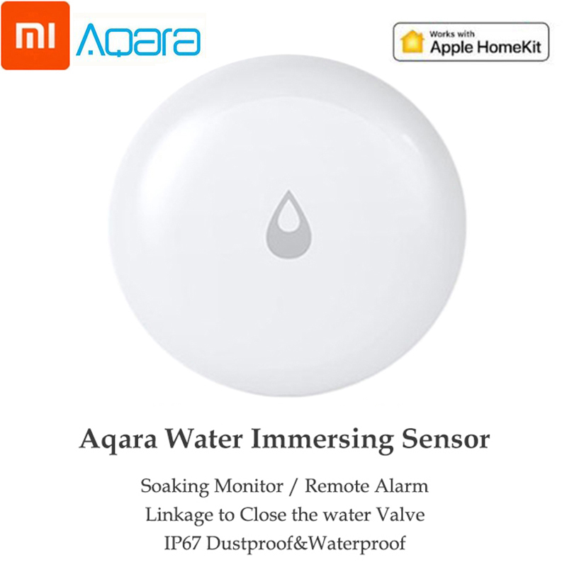 Xiaomi Mijia Aqara Water Immersing Sensor Flood Water Leak Detector Smart Remote Control Alarm Security Soaking Sensor
