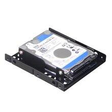 Podwójny pulpit SSD uchwyt montażowy 2.5 do 3.5 cala uchwyt dysku twardego dysk twardy wewnętrzny Adapter zestaw montażowy wspornik