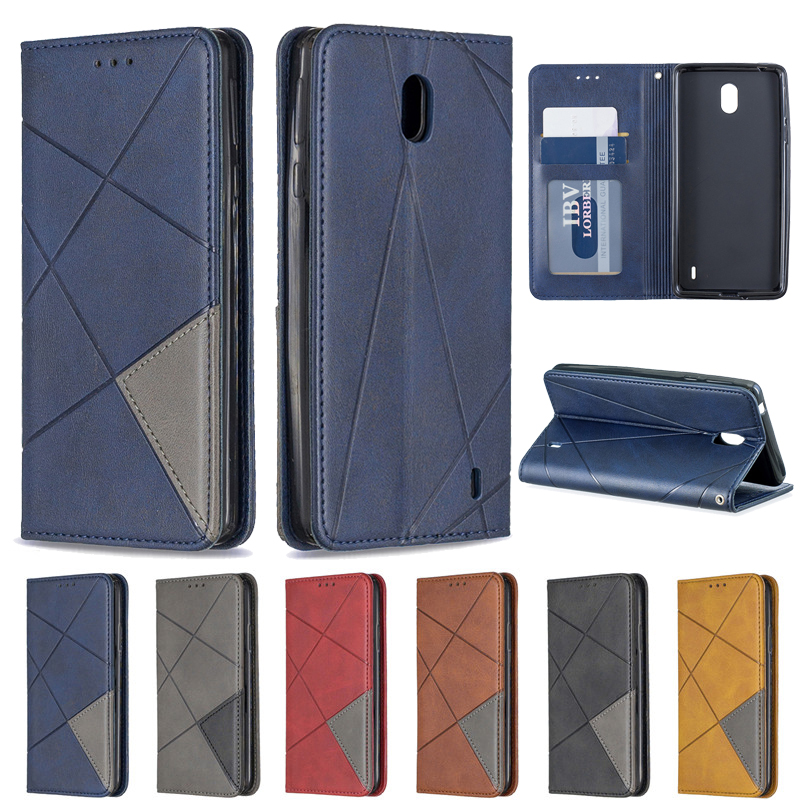 For <font><b>Nokia</b></font> 1 Plus Case Magnetic Flip Case on sFor Coque <font><b>Nokia</b></font> 1 Plus 2019 <font><b>TA</b></font>-<font><b>1130</b></font> <font><b>TA</b></font>-111 Cover Luxury Wallet Leather Phone Cases image