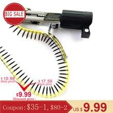 Adaptador de boquilla de taladro eléctrico automático, Kit de herramientas de uñas y soporte de salida para el hogar, accesorios para máquina de clavos de cadena