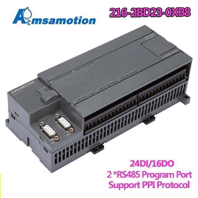 Amsamotion CPU226 6ES7 216 2BD23 0XB8 ממסר PLC 24I/16O 6ES7 216 2AD23 0XB8 טרנזיסטור PLC