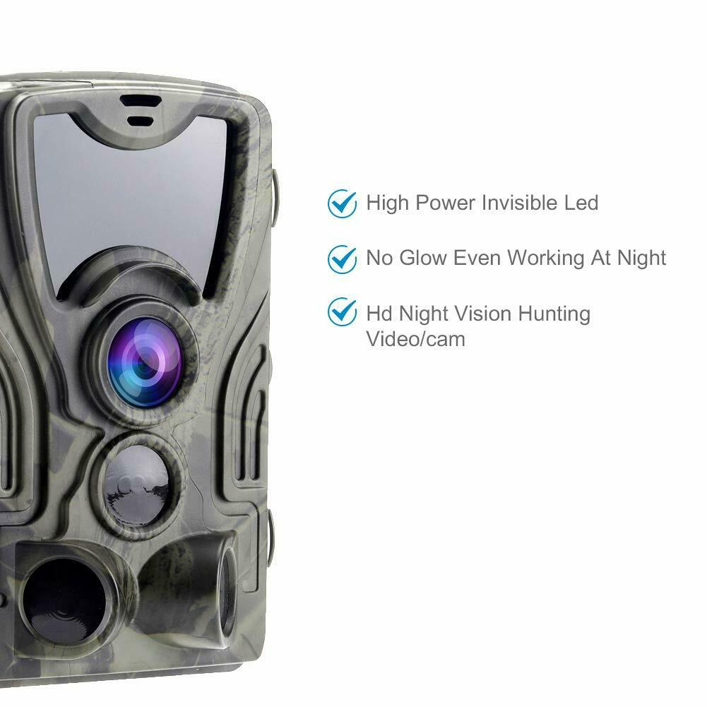 HC801A 16MP Low glow LED light Hunting camera 1080P 0.3s Trigger Game Trail Wildlife Photo trap Scouts Hunter camera chasse image